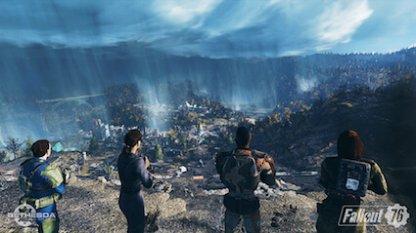 Fallout 76のゲームシーン