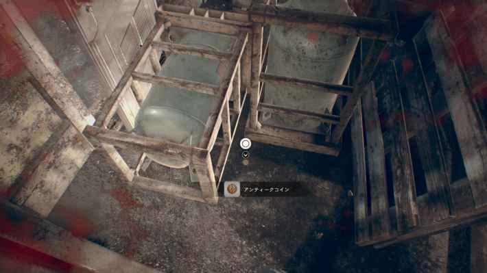 廃船4F(ミア編):階段の下の場所