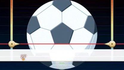 ゴルフボールとサッカーボール(5号)
