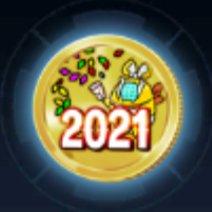 2021メダルのアイコン