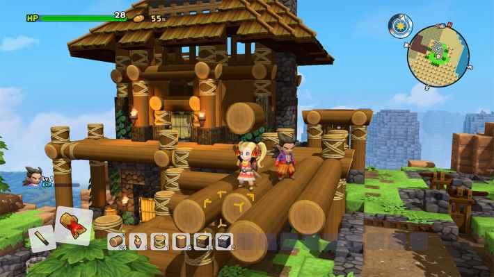 ドラクエビルダーズ2 ゲームプレイ画像