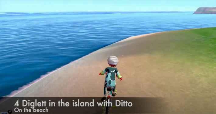 ワークアウトの海のディグダ