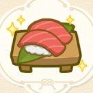 美味しそうなマグロの握り寿司