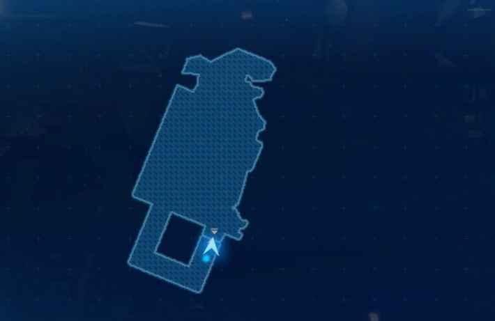 七番街支柱_13Fのマップ