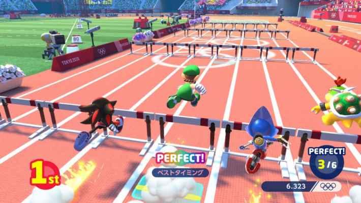 マリオ&ソニック AT 東京2020オリンピック™の画像