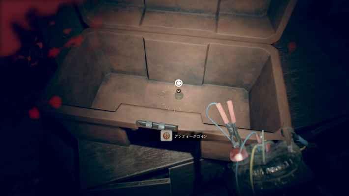 廃船3F(ミア編):コントロールルームの道具箱(キーピックが必要)の場所