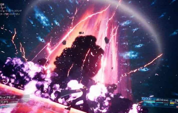 着弾と同時に巨大な爆炎、爆風が周囲を襲う