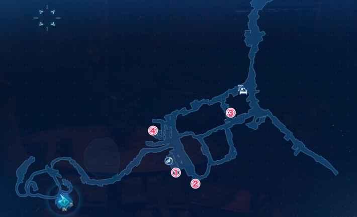 五番街スラムのマップ