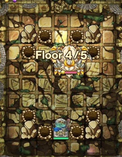 ヴァナヘイム編13階フロア4のモンスター穴