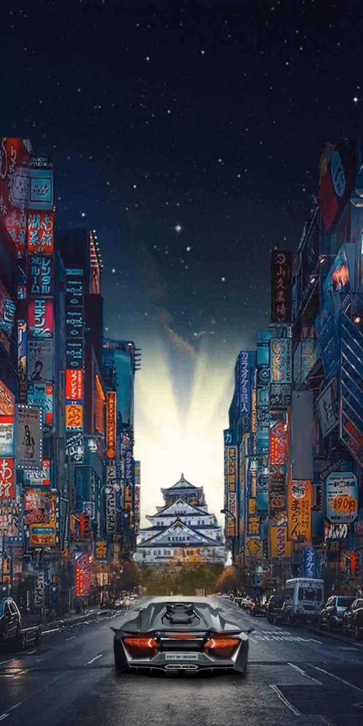 西京24区 街並み