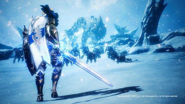 グランサガ 凍える大地に佇む剣士