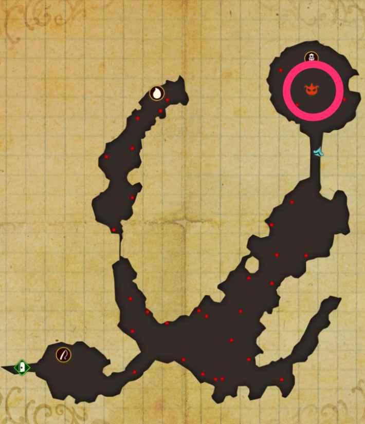花群れ岬マップ