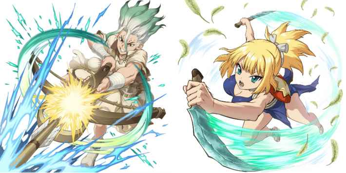 Dr.STONE 新作ゲームの画像