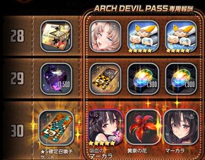 ARCH DEVIL PASS画像です