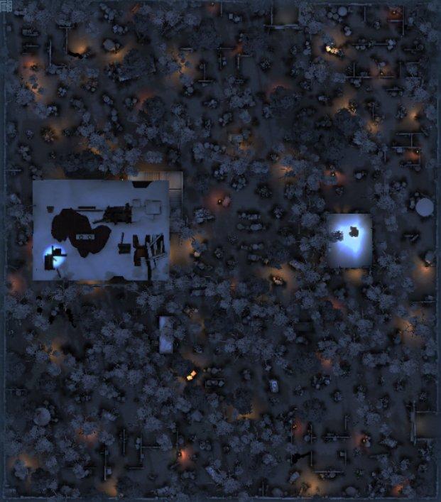 レオの思い出の全体マップ(アイコンなし)