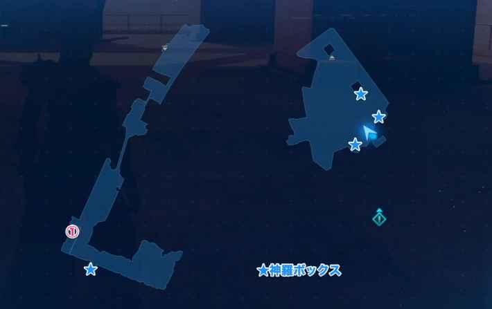地上145m付近のマップ