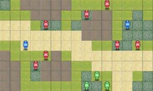 6-4:死霊の森のマップ画像