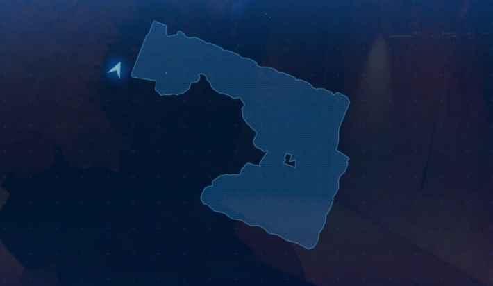 地上100m付近のマップ