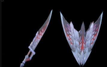 赫翼の盾斧Ⅰ