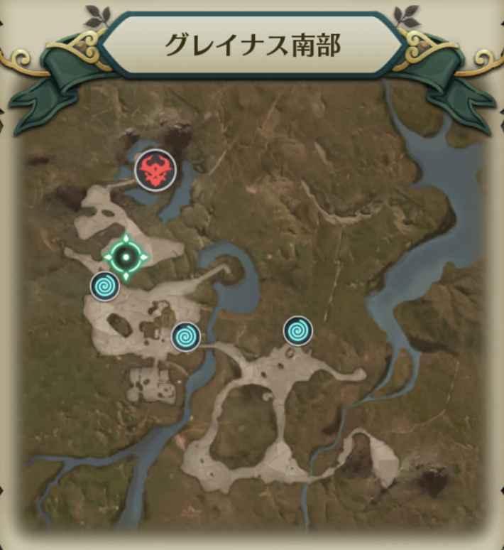 スケルナイトマップ1