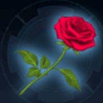 バラの花のアイコン