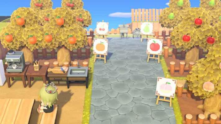 果樹園カフェ
