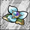 開花の花・銀