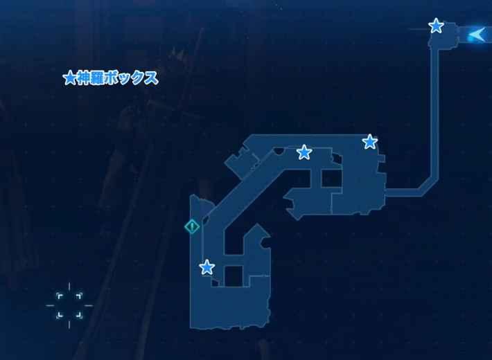 七番地区 地下下水道のマップ