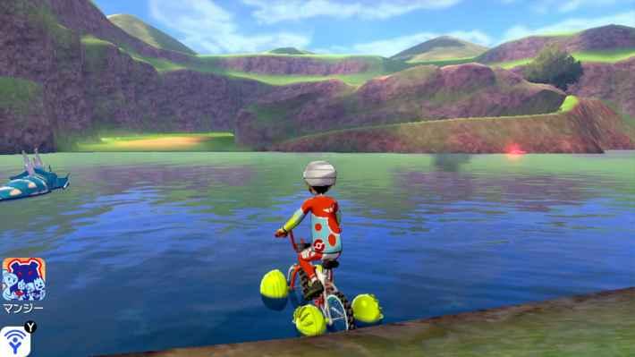 水上自転車