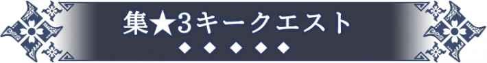 集会所★3のキークエスト