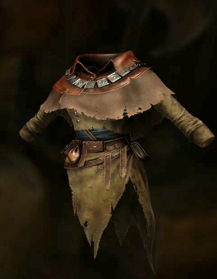 呪い師の着衣
