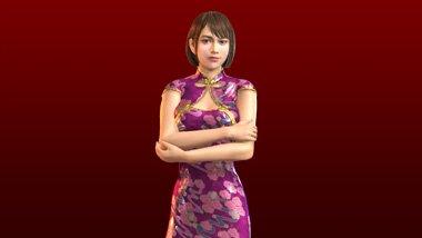 紗栄子のDLC中華パブ店員衣装