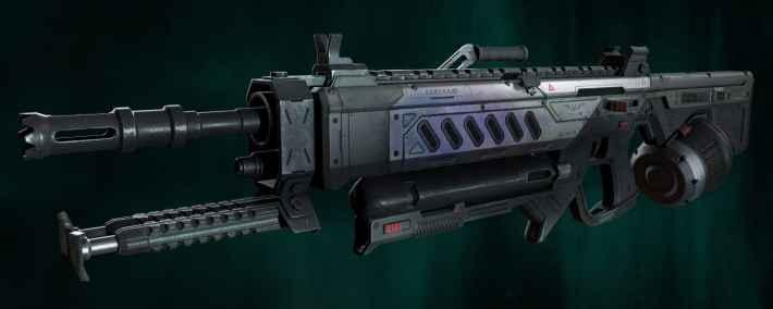 新武器 ランページLMG