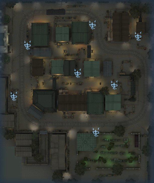 永眠町の暗号機マップ2