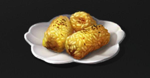 マグロの米巻き焼き