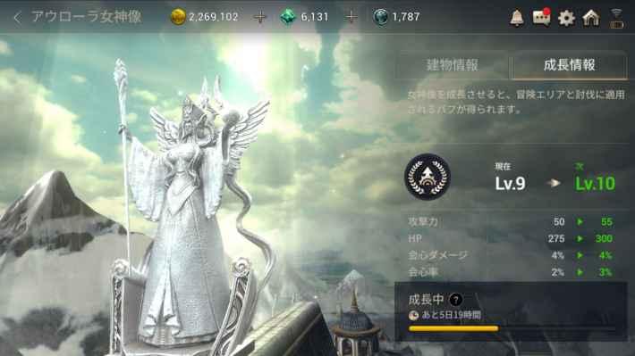 アウローラ女神像の画像