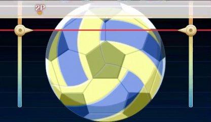 バレーボール(5号)とサッカーボール(5号)