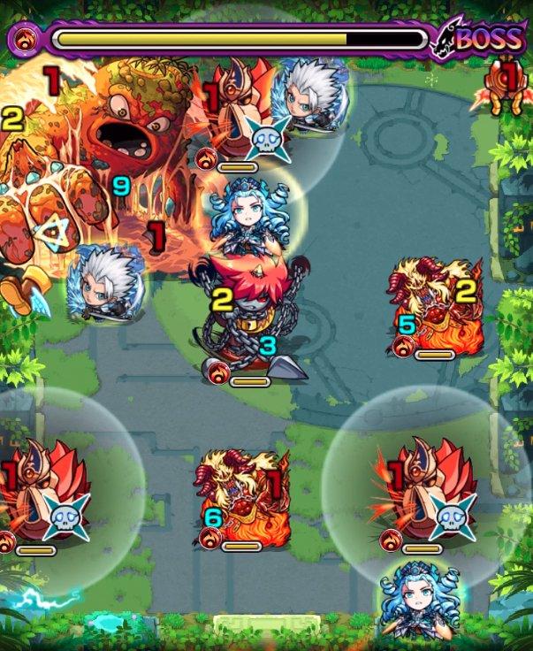 未開の大地【1】のボス戦3