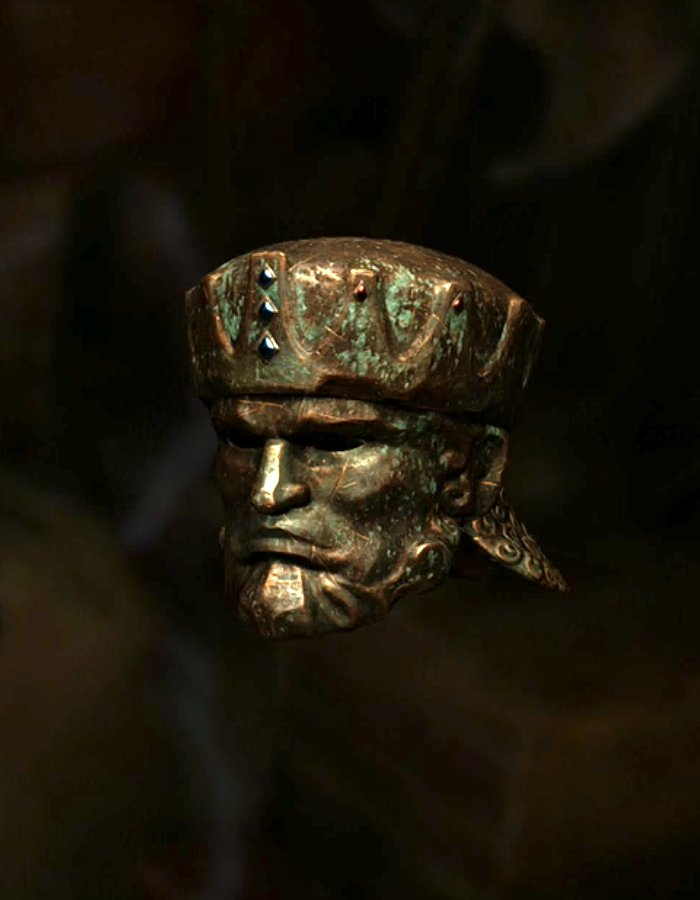 古き王の仮面