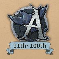 サバイバーの徽章「A」