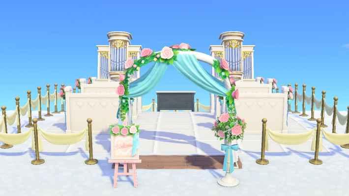 シンプルな結婚式場