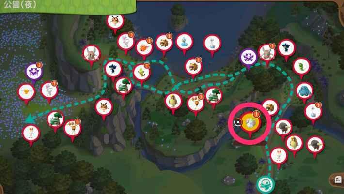 公園夜マップ