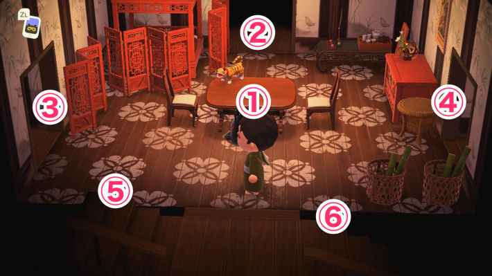 撮影スタジオは6部屋