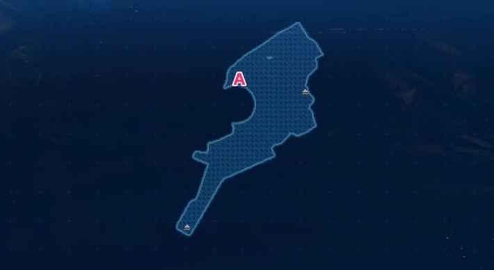 ダブルアーム作業場のマップ