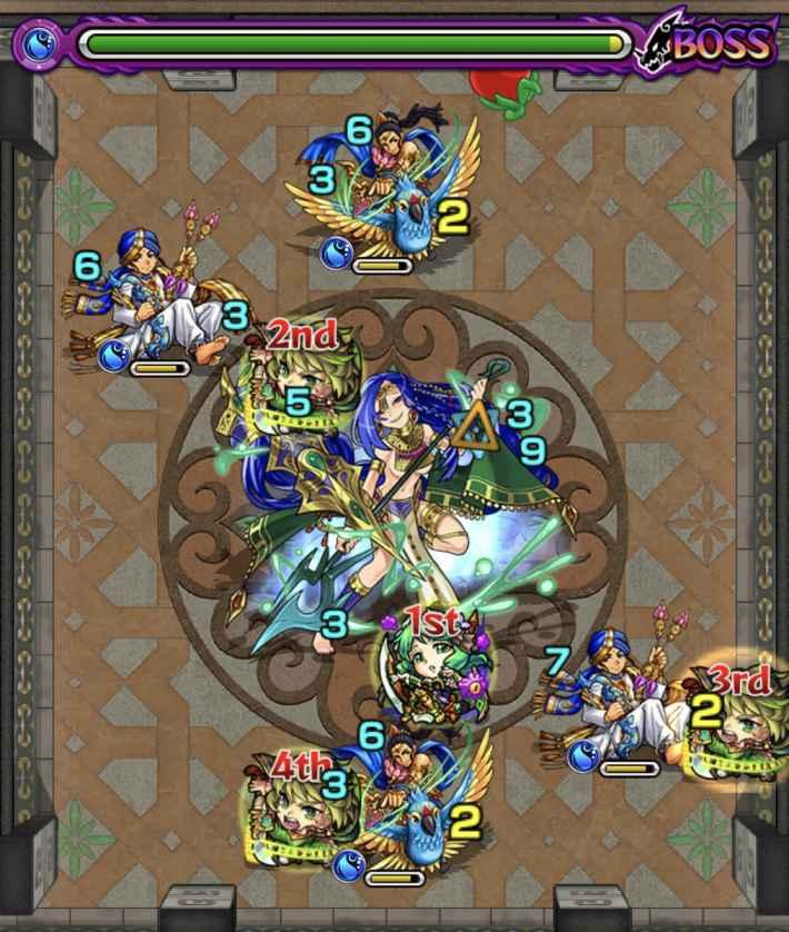 裏覇者北23-6のステージ画像