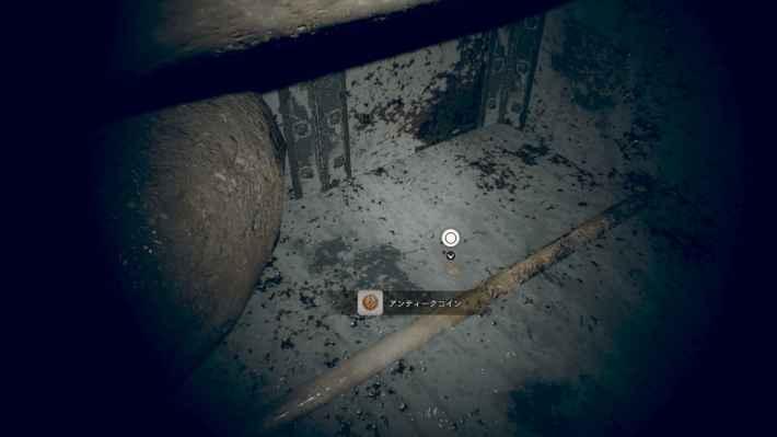 廃船S1(ミア編):配管のある通路の場所