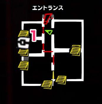 王城・地下牢獄のマップ