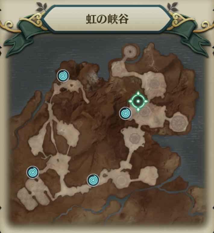 赤胴の戦士マップ9