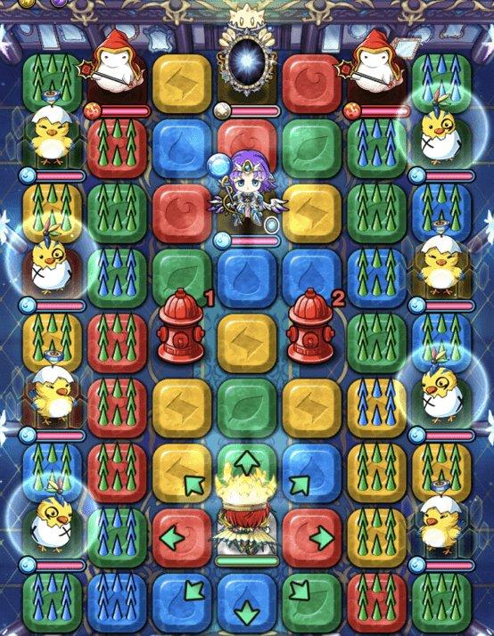 【水の間Ⅱ】蒼祝酉集いし棘遊戯フロア1全体