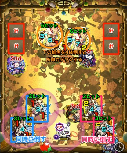 第3ステージの蘇生ペア